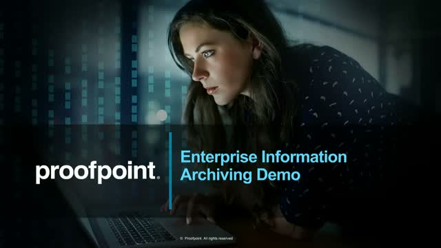 Enterprise Information Archiving