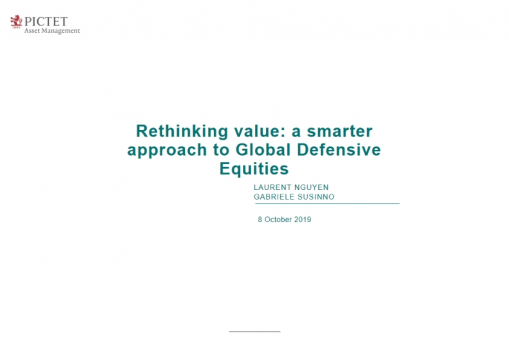 Rethinking value: A smarter approach to global defensive equities