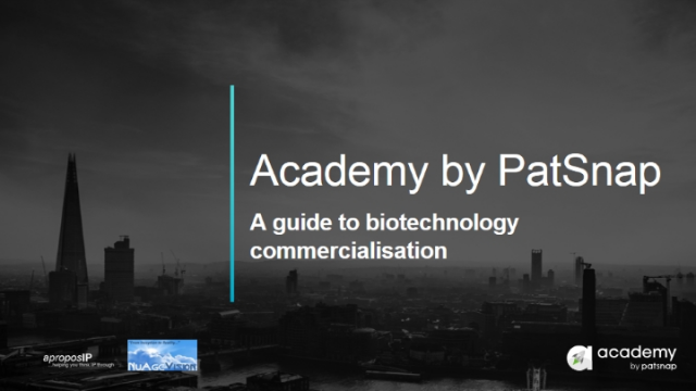 A guide to biotechnology commercialisation