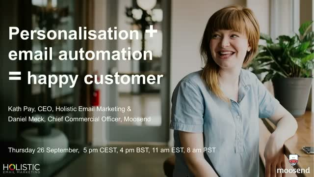 Personalisation + email automation = happy customer