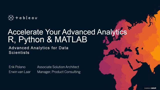 Advanced Analytics | Accelerate your Advanced Analytics: R, Python & MATLAB