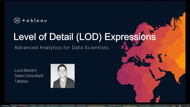 Advanced Analytics | Level of Detail (LOD) Expressions