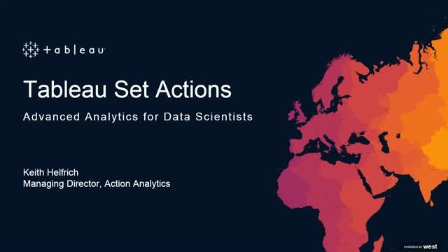 Advanced Analytics: Rich Interactive Analytics with Tableau Set Actions