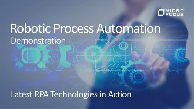 Technical deep dive demo of latest RPA technologies