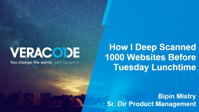 How I Deep-Scanned 1000 Websites Before Tuesday Lunchtime