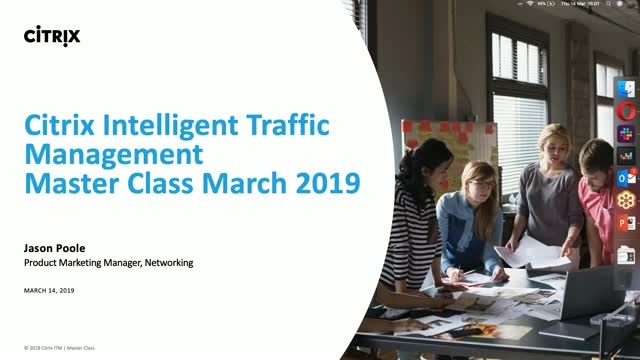 ITM Master Class March 2019