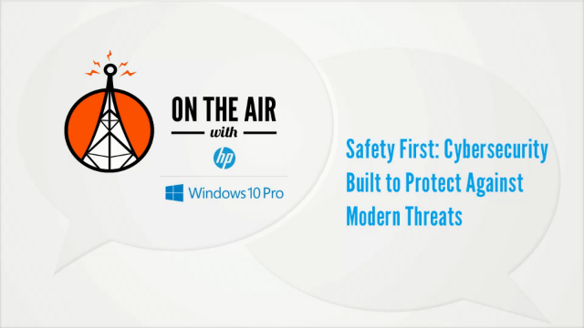 Safety First: Cybersecurity Built to Protect Against Modern Threats