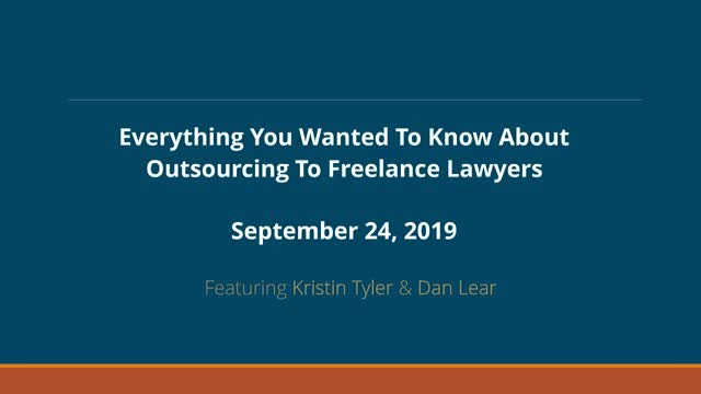 Everything you always wanted to know about outsourcing (but were afraid to ask)