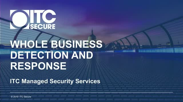 Breach Detection and Response – The whole business challenge