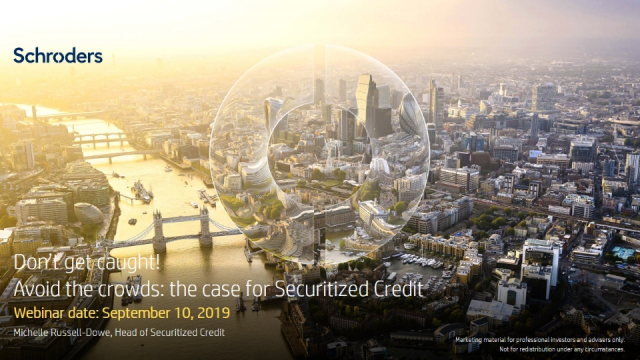 Avoid the crowds: the case for securitized credit