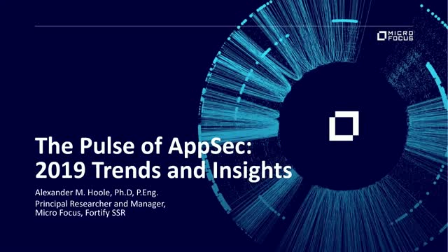 The Pulse of AppSec: 2019 Trends and Insights