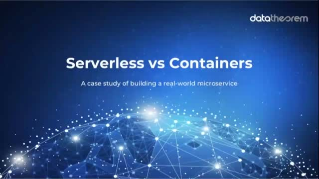 Serverless vs Containers: A Case Study