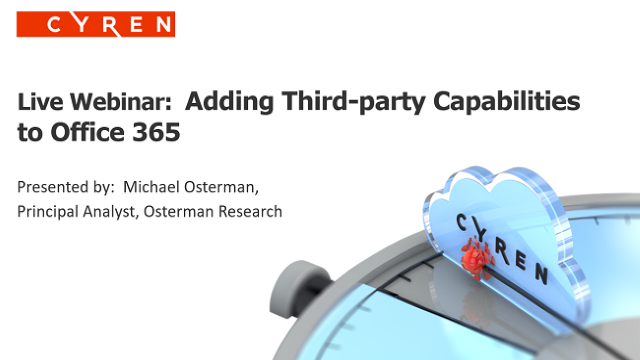 Adding Third-party Capabilities to Office 365