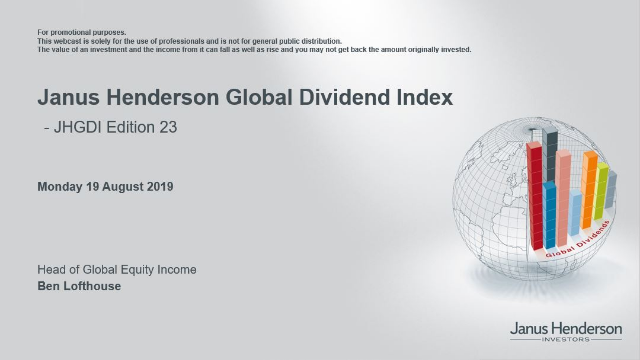 Janus Henderson Global Dividend Index: Expert insight - Edition 23