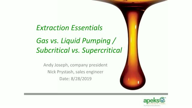 Gas v Liquid and Subcritical v Supercritical