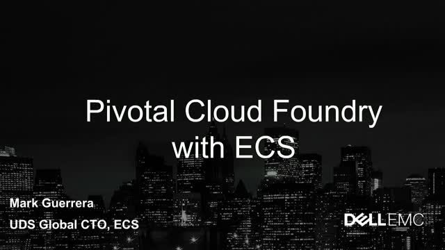 Modern App Development with ECS