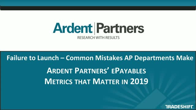 Failure to Launch – Common Mistakes AP Departments Make