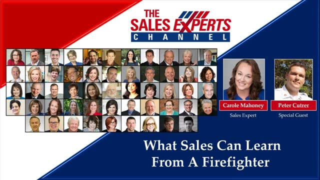 What Sales Can Learn From A Firefighter