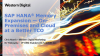 SAP HANA® Memory Expansion - On-Premises and Cloud - at a Better TCO