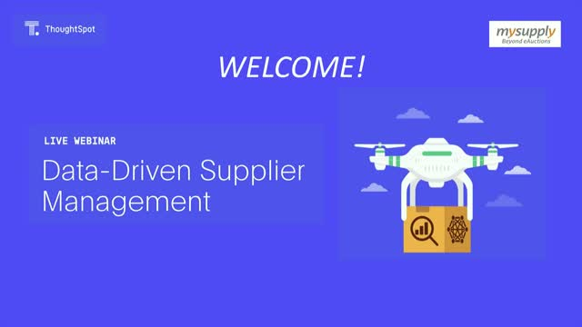 Data-driven Supplier Management