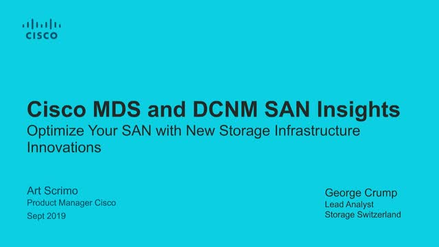 Optimize Your SAN with New Storage Infrastructure Innovations
