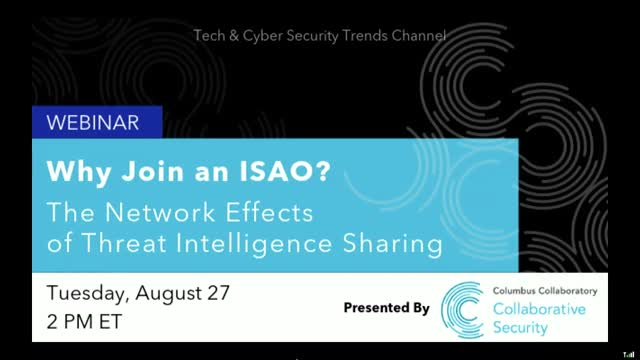 Why Join an ISAO? The Network Effects of Threat Intelligence Sharing