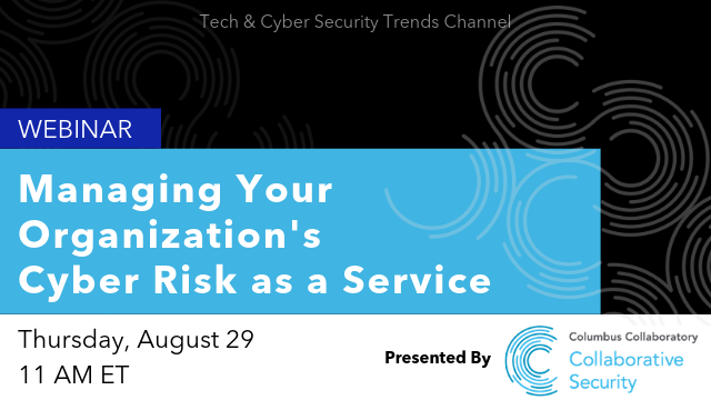 Managing Your Organization's Cyber Risk as a Service