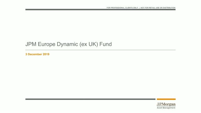 Bitesize 30-minute update: JPM Europe Dynamic (ex-UK) Fund