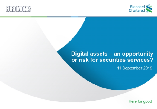 Digital assets – an opportunity or risk for securities services?