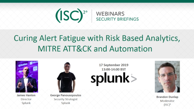 Curing Alert Fatigue with Risk Based Analytics, MITRE ATT&CK and Automation