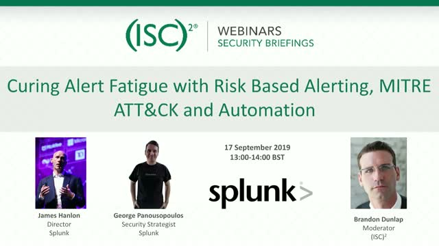 Curing Alert Fatigue with Risk Based Alerting, MITRE ATT&CK and Automation