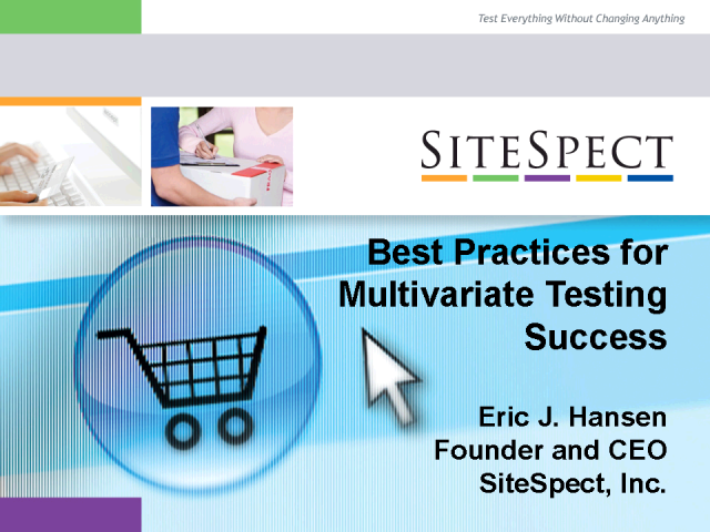 Best Practices for Multivariate Testing Success
