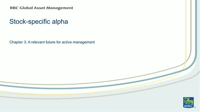 Active Alpha: A relevant future for active management