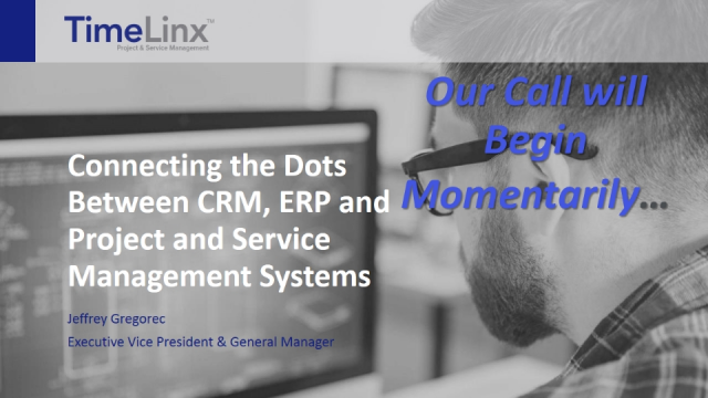 Maximizing Profits by Connecting CRM, ERP and Project Management Systems