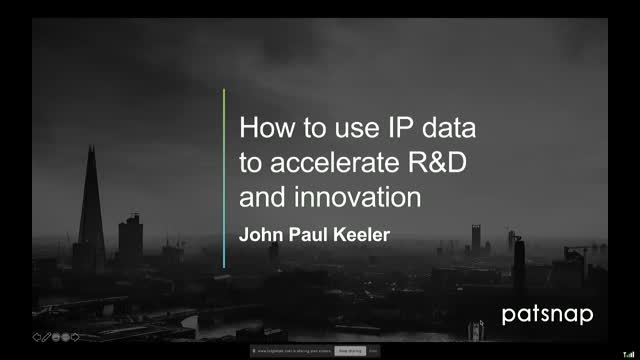 How to Use IP Data to Accelerate R&D and Innovation