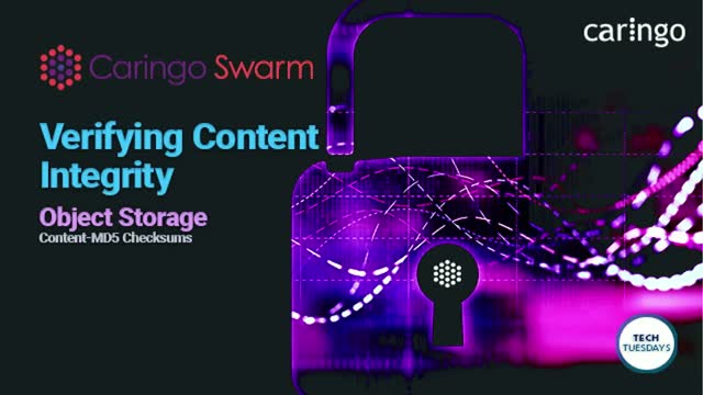 Tech Tuesday: How to Verify Content Integrity with Swarm Object Storage