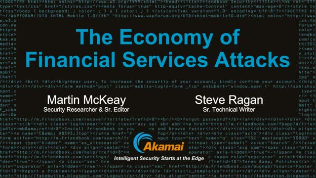 On-demand Webinar: State of the Internet / Security: Financial Services Attack E