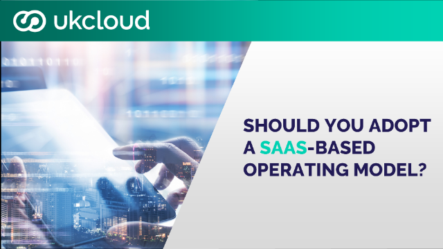 The SaaS Operating Model: Why Software Providers Need to Think Cloud