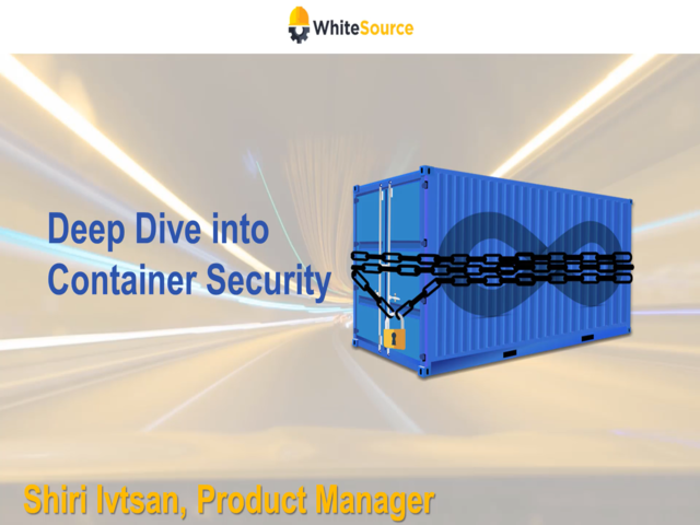 Deep Dive into Containers Security