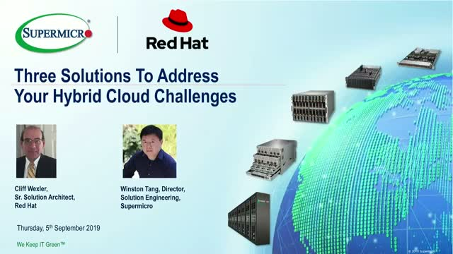 Three Enterprise Solutions to Address Your Hybrid Cloud Challenges