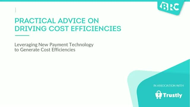 Practical Advice On Driving Cost Efficiencies