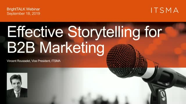 Effective Storytelling for B2B Marketing