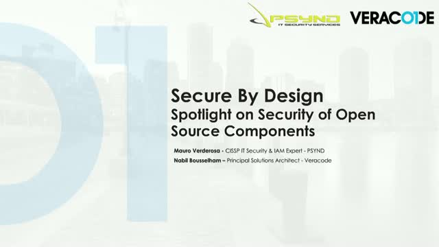 Secure By Design: Spotlight on Security of Open Source Components