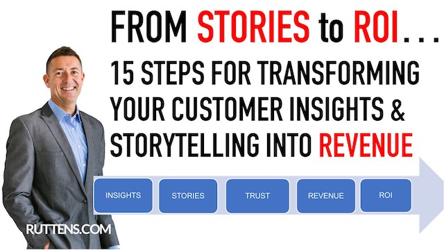 FROM STORIES to ROI: 15 steps for transforming your customer insights