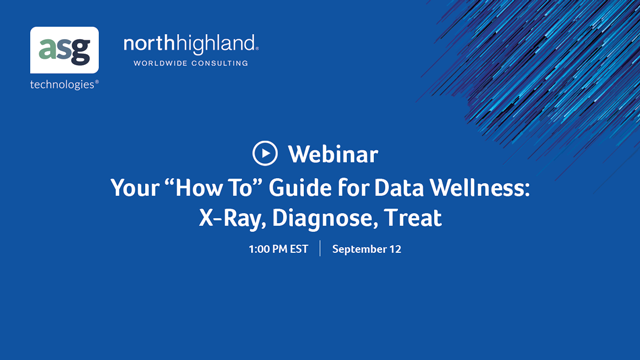 "Your ""How To"" Guide for Data Wellness: X-Ray, Diagnose, Treat"