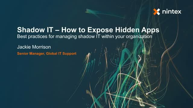 Shadow IT - How to Expose Hidden Apps
