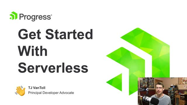 Serverless 101 With Progress Kinvey