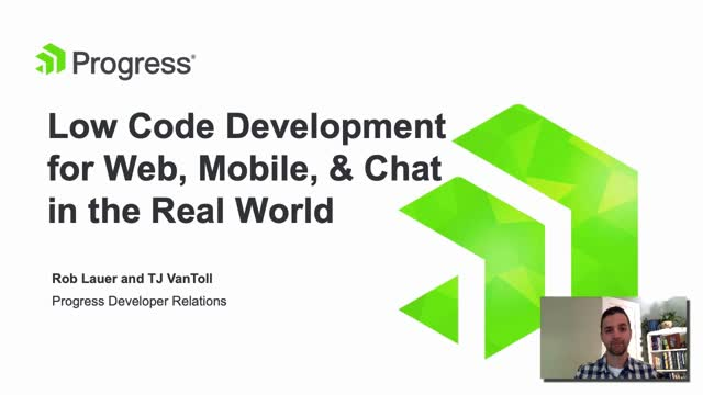 Low Code Development for Web, Mobile and Chat in the Real World