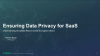 Implementing Record Level Encryption to Ensure Data Privacy for SaaS