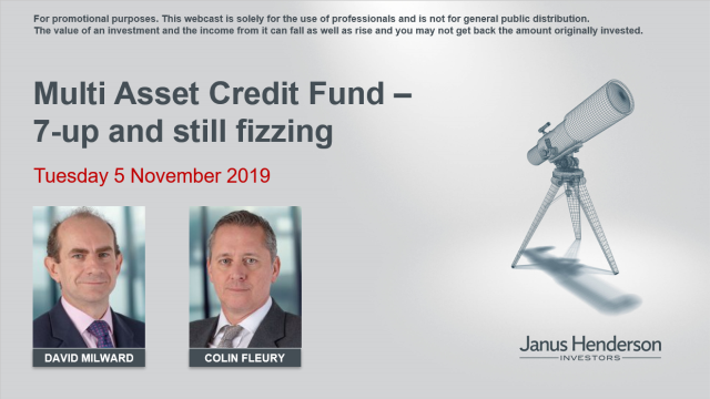 Multi Asset Credit Fund — 7-up and still fizzing